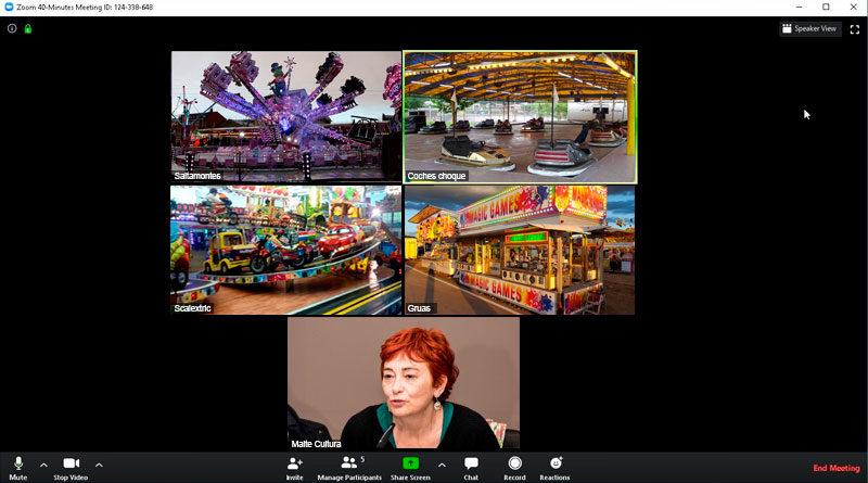 El Ayuntamiento propone a los feriantes celebrar un San Froilán mediante videollamada vía Zoom