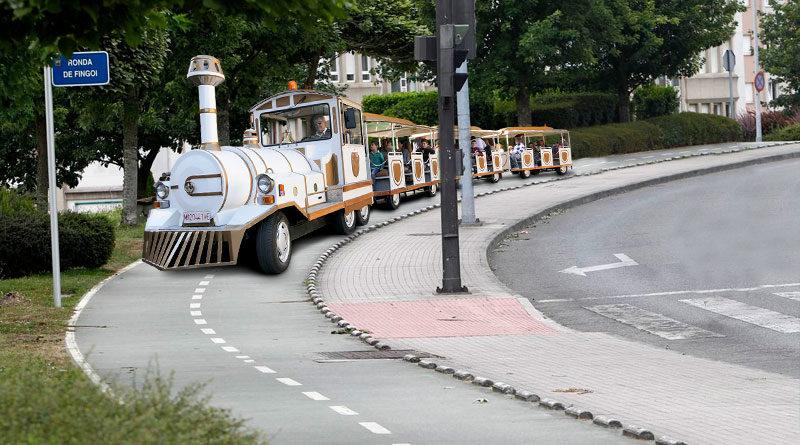 El Ayuntamiento acepta que los feriantes instalen el Tren de la Bruja por el trazado del nuevo carril bici