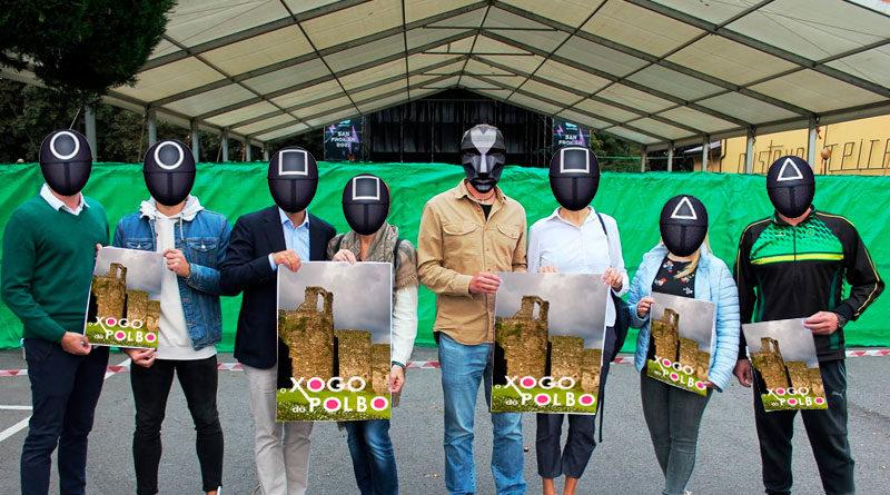 El BNG invita a todos su detractores a jugar a la versión lucense de 'El juego del calamar' durante San Froilán